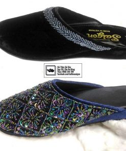 embroidered slipper vietnam