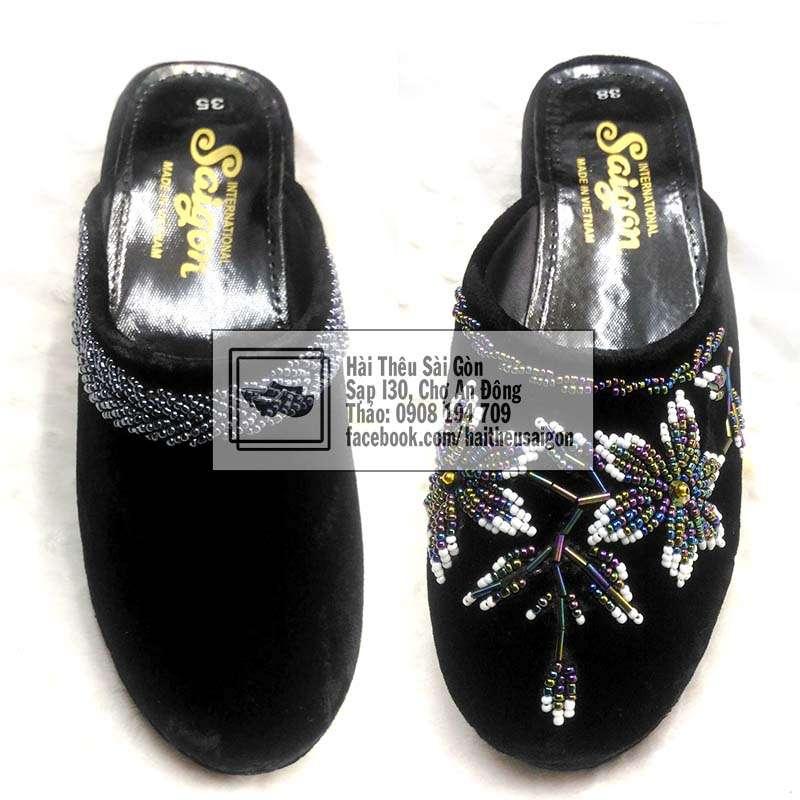 embroidered slipper vietnam
