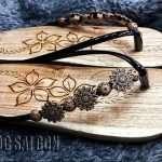 guốc gỗ giá rẻ, thời trang tphcm