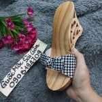 guốc gỗ, guốc mộc, quai nơ, cung cấp guốc gỗ thời trang